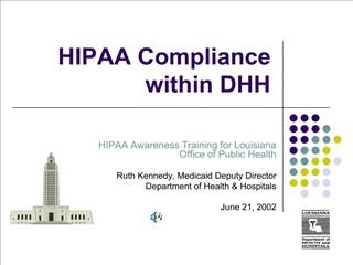 HIPAA Compliance within DHH