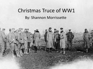 Christmas Truce of WW1