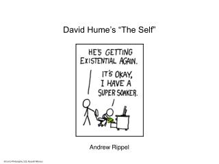 David Hume�s �The Self�