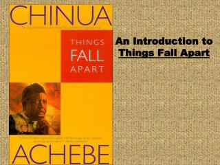 An Introduction to  Things Fall Apart