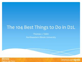 The 104 Best Things to Do in D2L