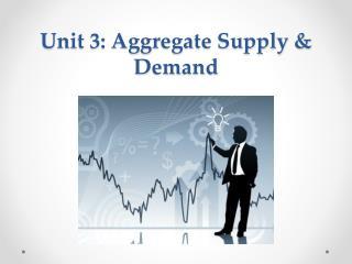 Unit 3: Aggregate Supply & Demand