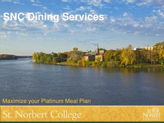 SNC Dining Services