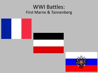 WWI Battles:
