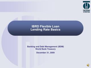IBRD Flexible Loan Lending Rate Basics
