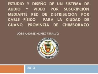 JOSÉ ANDRÉS NÚÑEZ  PERALVO