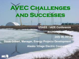 AVEC Challenges and Successes