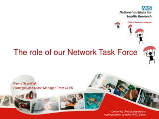 The role of our Network Task Force