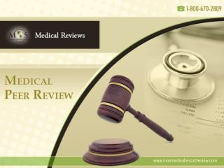 Medical Peer Review