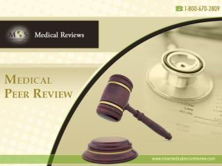 Medical Peer Review
