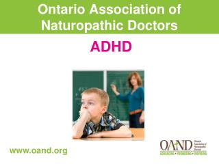 Ontario Association of Naturopathic Doctors