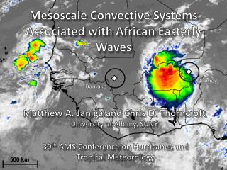 Mesoscale Convective Systems Associated with African Easterly Waves