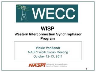 WISP Western Interconnection Synchrophasor  Program