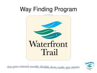 Way Finding Program