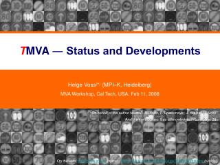 TMVA  Status and Developments