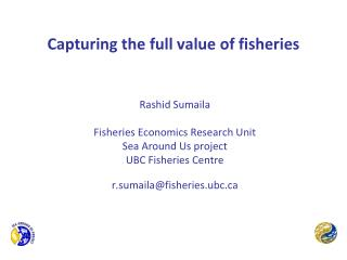 Capturing the full value of fisheries