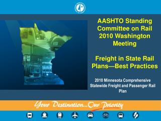 2010 Minnesota Comprehensive Statewide Freight and Passenger Rail Plan