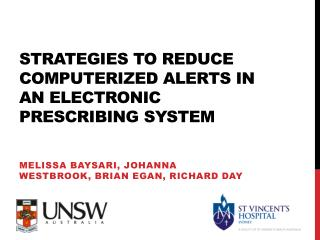 strategies to reduce computerized alerts in an electronic prescribing system