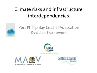 Climate risks and infrastructure interdependencies