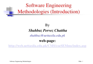 Lecture 6 Software Development under Unix