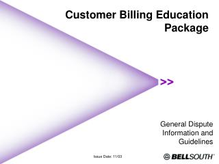 Customer Billing Education Package