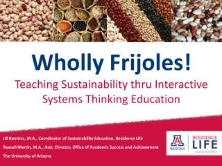 Wholly Frijoles! Teaching Sustainability thru Interactive Systems Thinking Education
