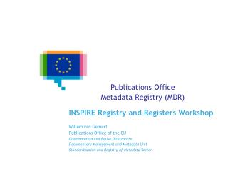 Publications Office  Metadata Registry (MDR)