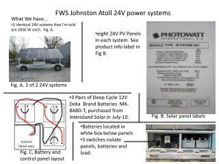 FWS Johnston Atoll 24V power systems