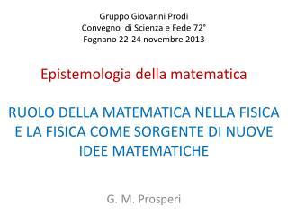 G. M. Prosperi