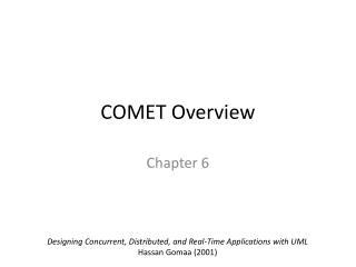 COMET Overview