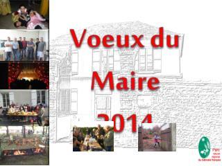Voeux  du  Maire 2014