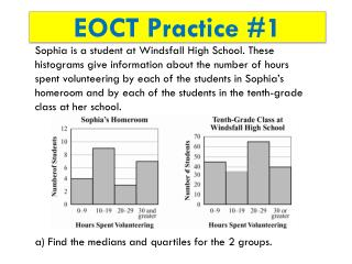 EOCT Practice #1