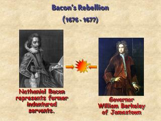 Bacon's Rebellion ( 1676 - 1677)