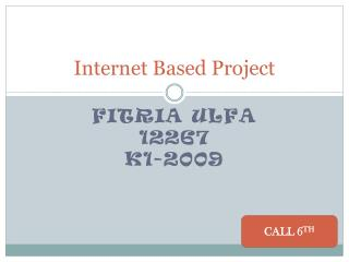 Internet Based Project
