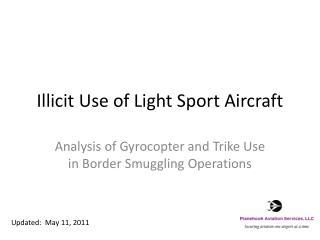 Illicit Use of Light Sport Aircraft
