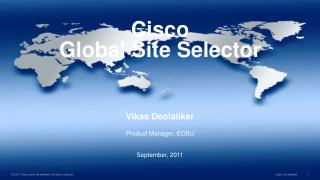 Cisco  Global Site Selector
