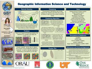 Geographic Information Science and Technology