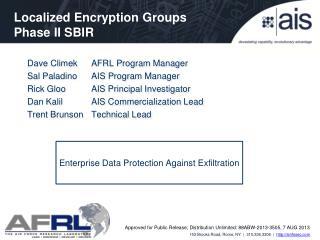 Enterprise Data Protection Against Exfiltration