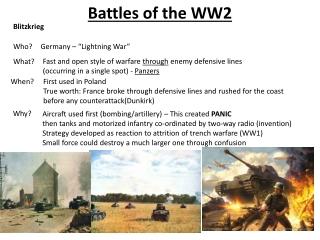 WW2 BEACH DEFENCES