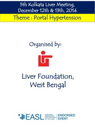 5th  Kolkata Liver Meeting,                      December  12th  &  13th ,  2014