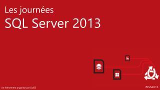 SQL 2014 et intégration Azure Franck Mercier, Laurent Banon Architecte Solutions Microsoft