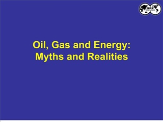 Oil, Gas and Energy: Myths and Realities