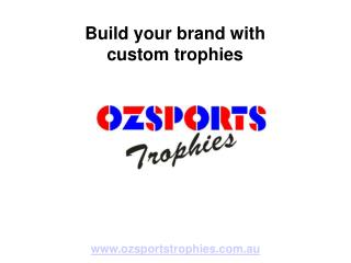 Custom Sportswear and Trophies in Brisbane