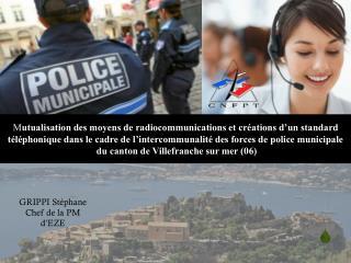 M utualisation des moyens de radiocommunications et créations d'un standard