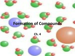 Formation of Compounds