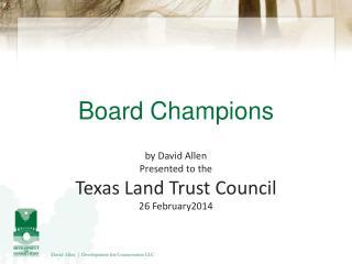 Board Champions