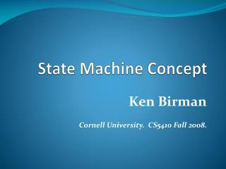 State Machine Concept