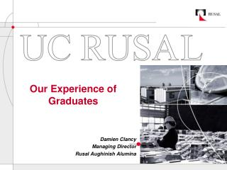 Our Experience of  Graduates