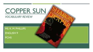 Copper sun  vocabulary review