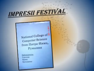 Impresii  festival